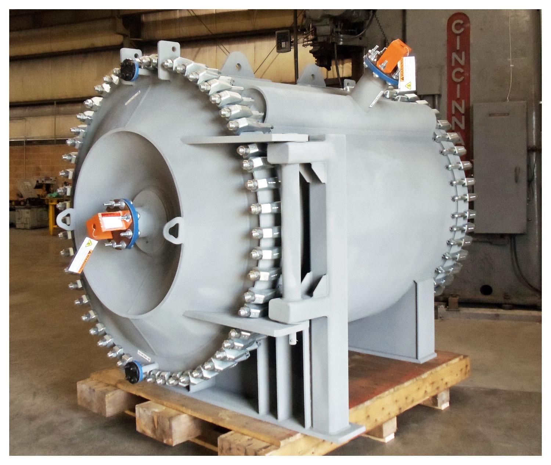Spiral Heat Exchanger - SAGD Produced Water Cooler