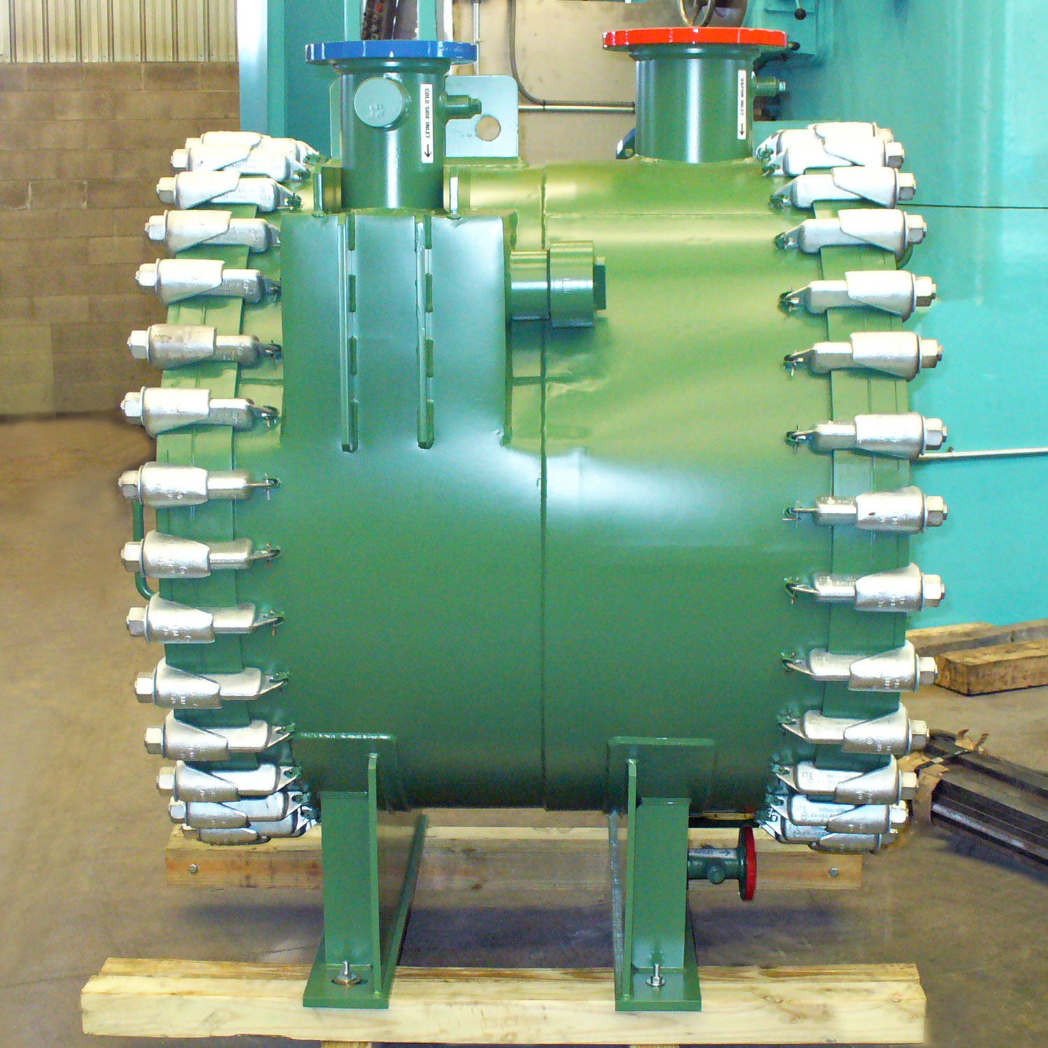 Spiral Heat Exchanger, Type 3.1-Horizontal Steam Heater