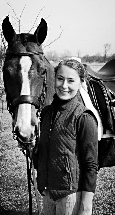 Clara with her American Quarter Horse gelding, More Coffee Please.