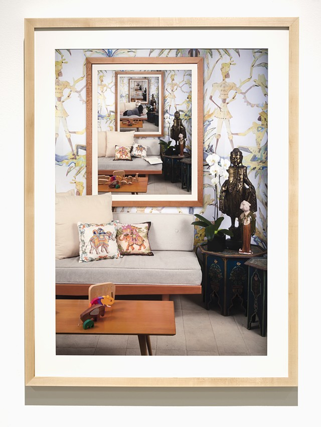 Malisa Humphrey,  A Guest, A Host, A Ghost , 2016 C-Print, 40 x 30 inches
