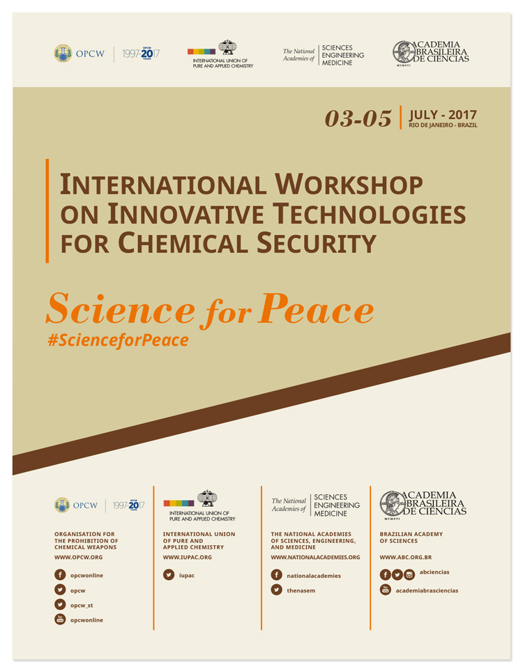 - Basil Leaf Technologies is honored to participate in the International Workshop on Innovative Technologies for Chemical Security. Hosted by the Brazilian Academy of Science, the Organisation for the Prohibition of Chemical Weapons has sought out organizations and researchers that have produced outcomes that could help our planet's global security.Rio de Janeiro