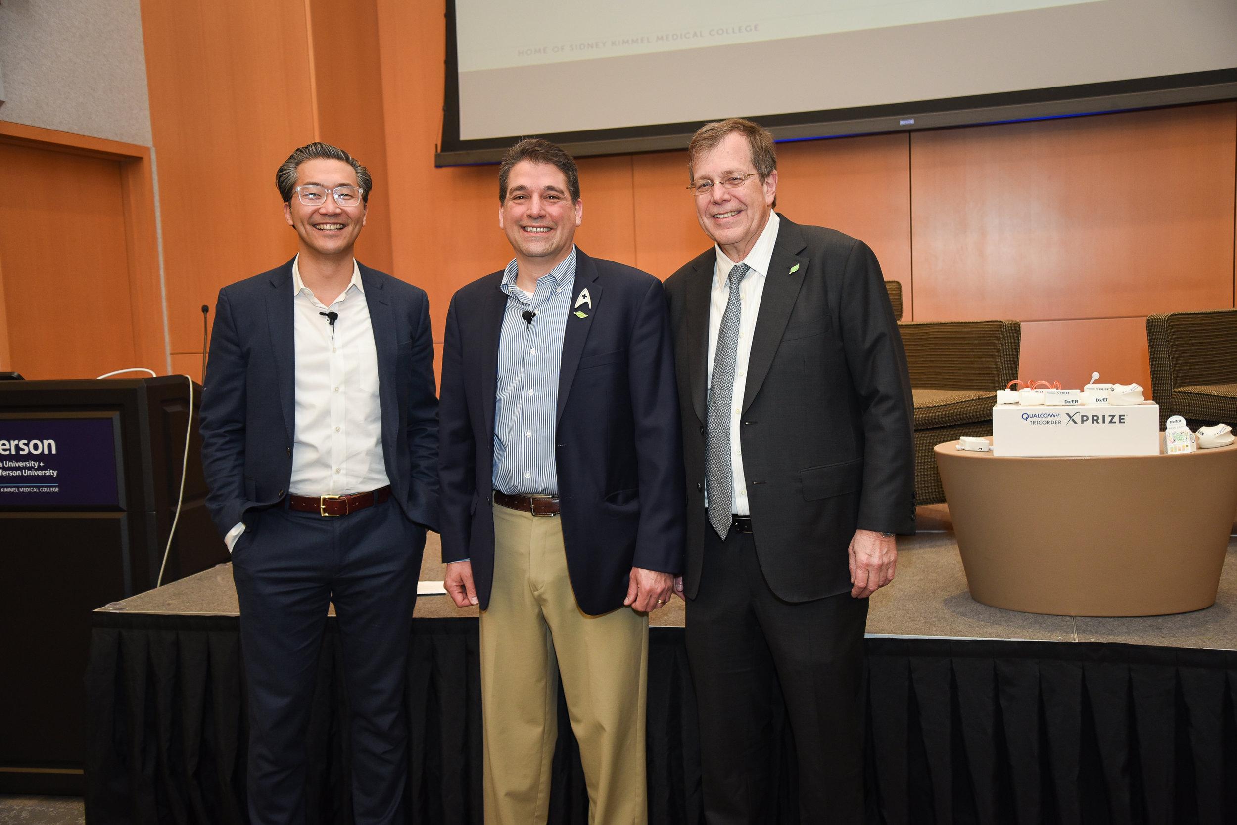 Drs. Bon Ku, Basil Harris, and Mark Tykocinski