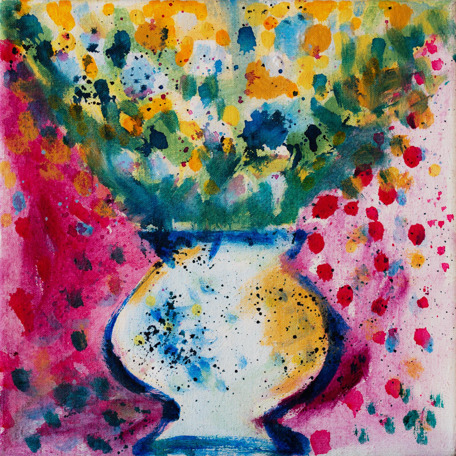 Still Life I / 1989 / oil on canvas / 30x30 cm