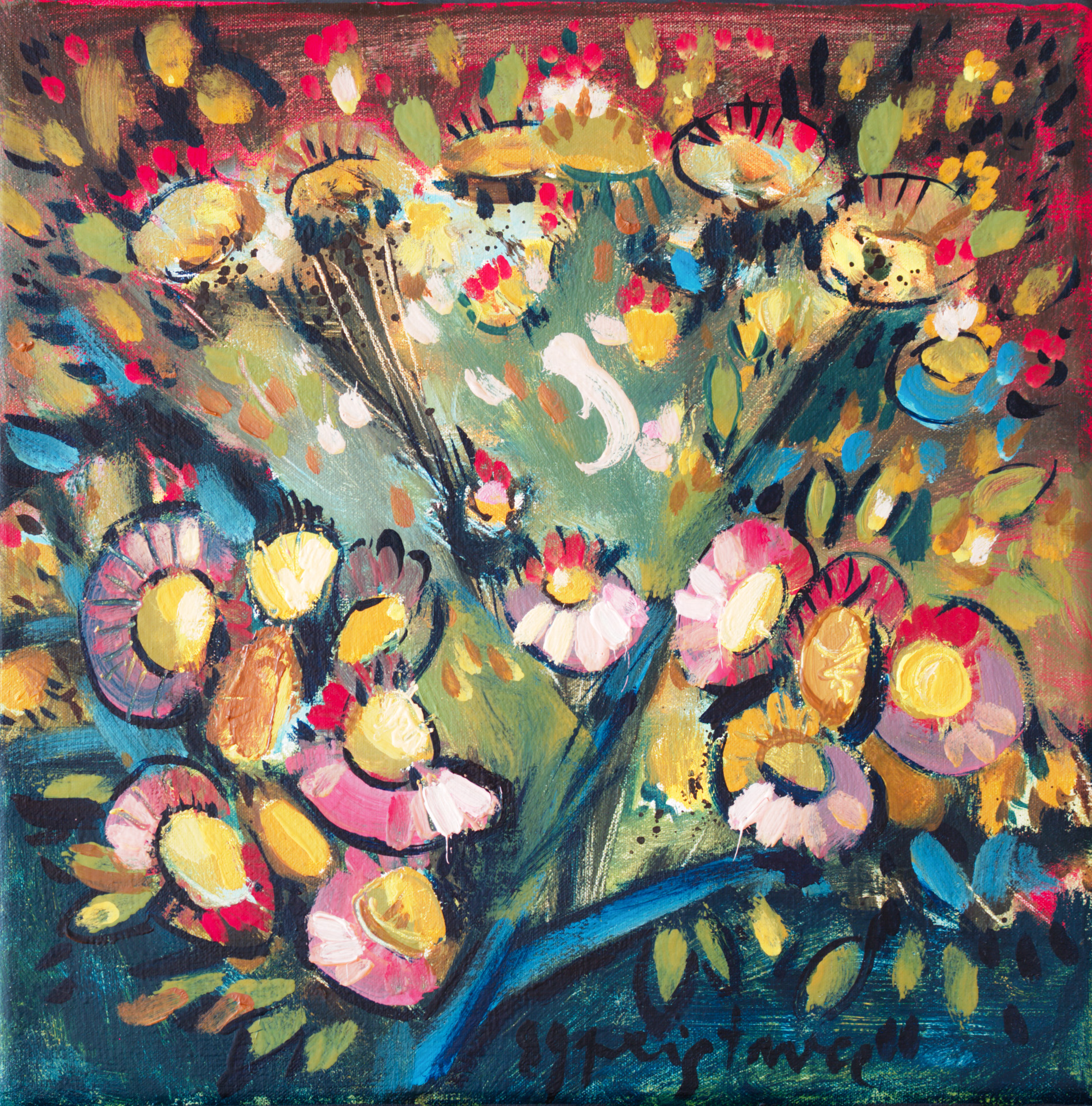 Still Life IV / 1989 / oil on canvas / 30x30 cm
