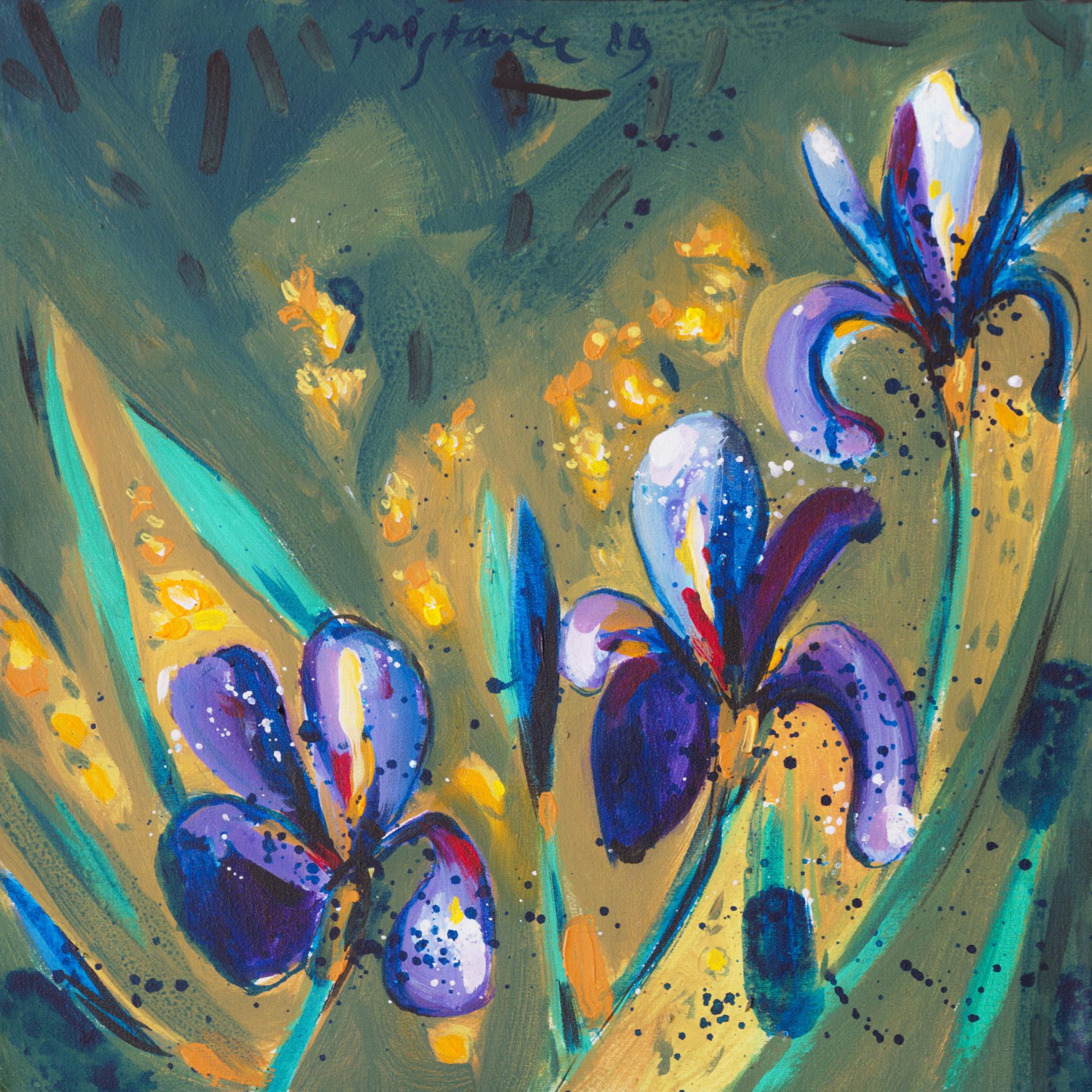 Still Life V / 1989 / oil on canvas / 39x39 cm