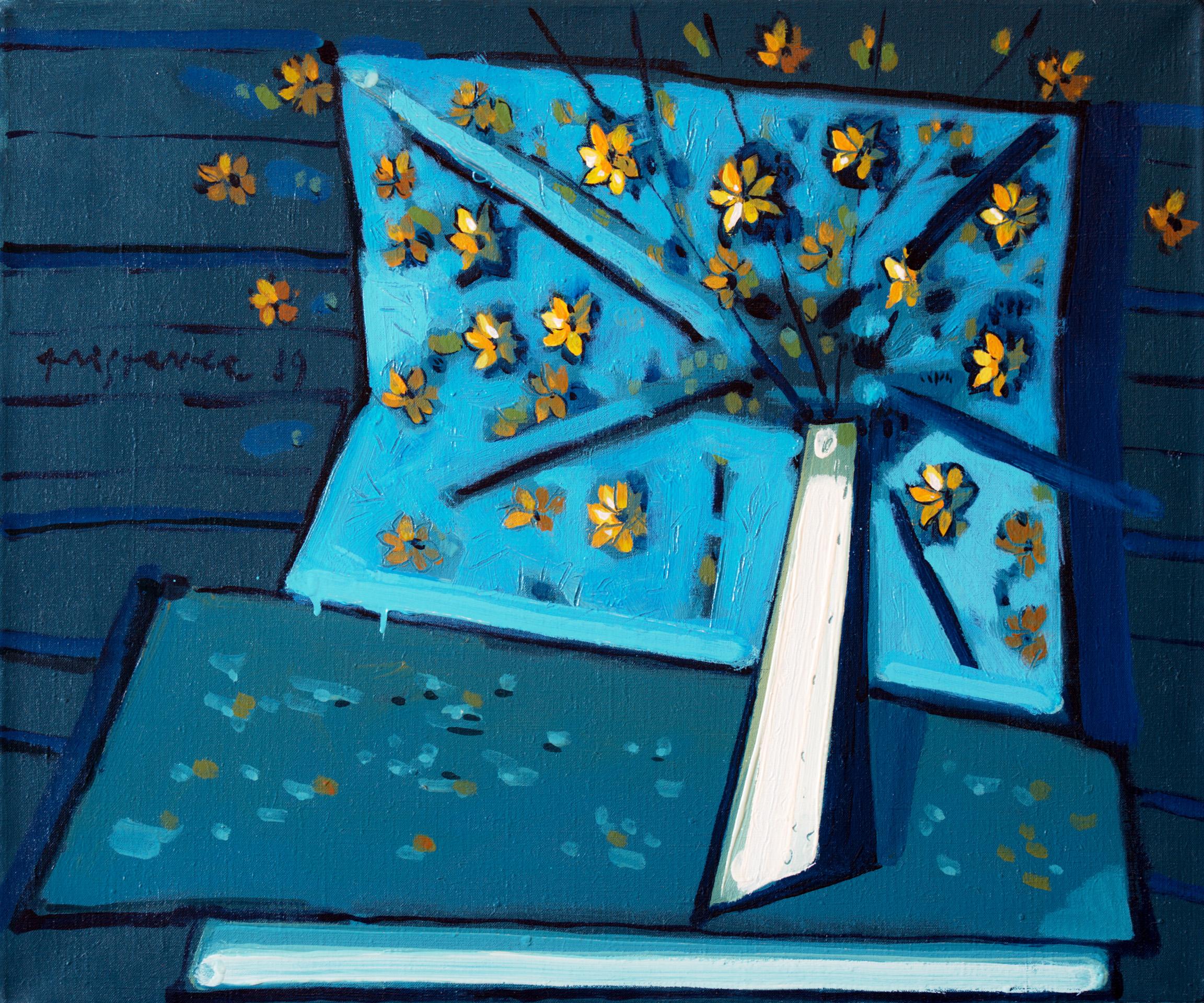 Still Life VI  / 1989 / oil on canvas / 60x50 cm