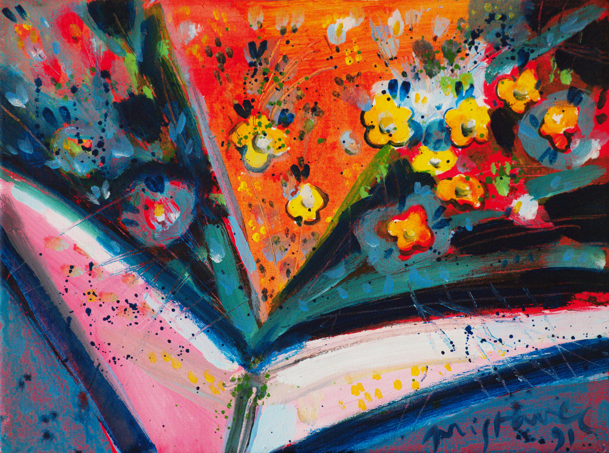 Still Life VII / 1991 /oil on canvas / 38x28 cm