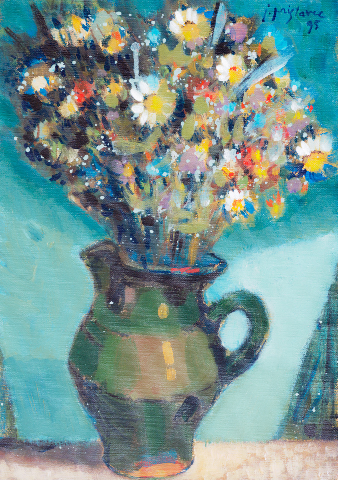 Still Life VIII / 1995 / oil on canvas / 35x50 cm
