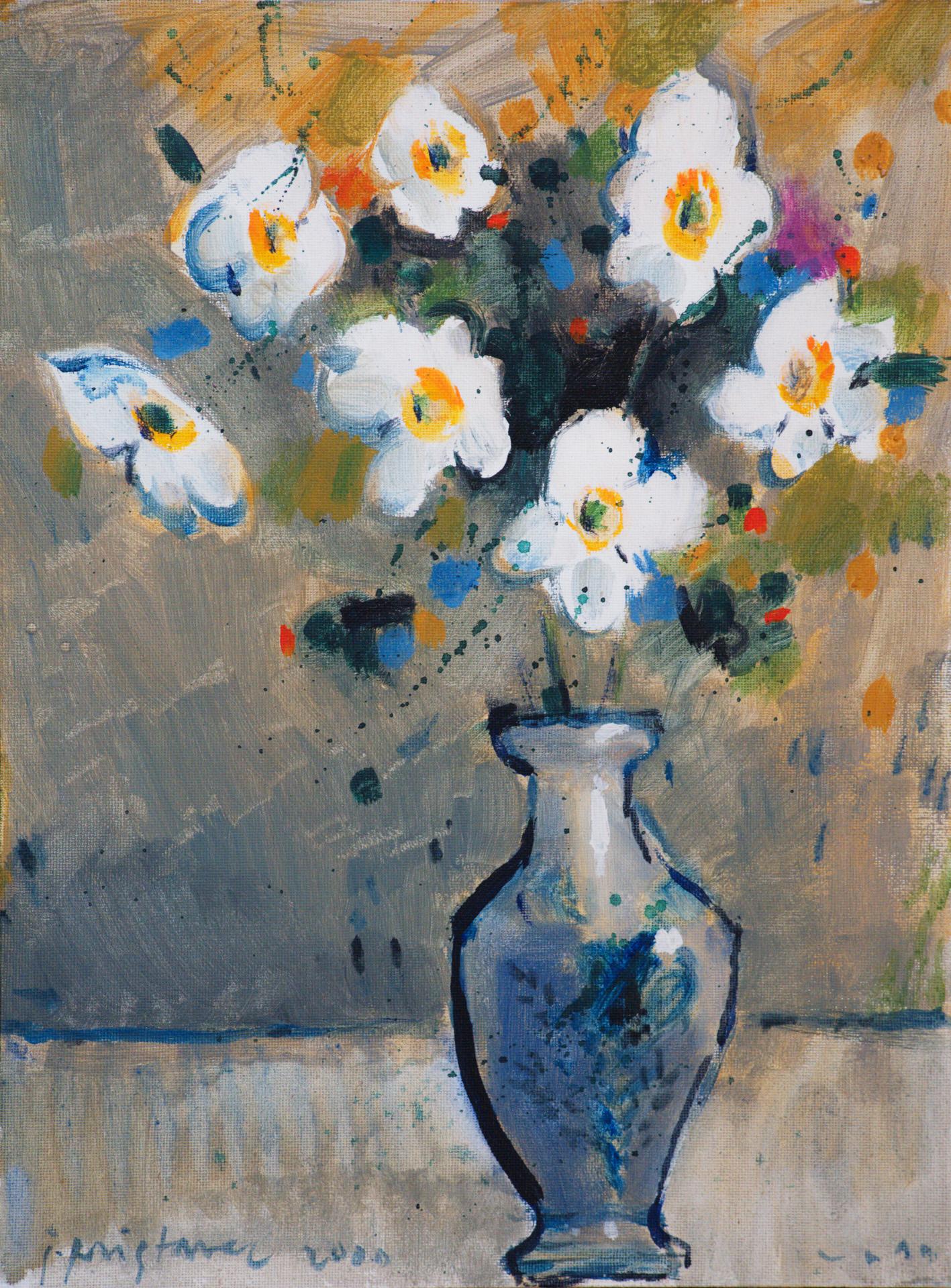 Still Life IX / 2000 / oil on canvas / 30x40 cm