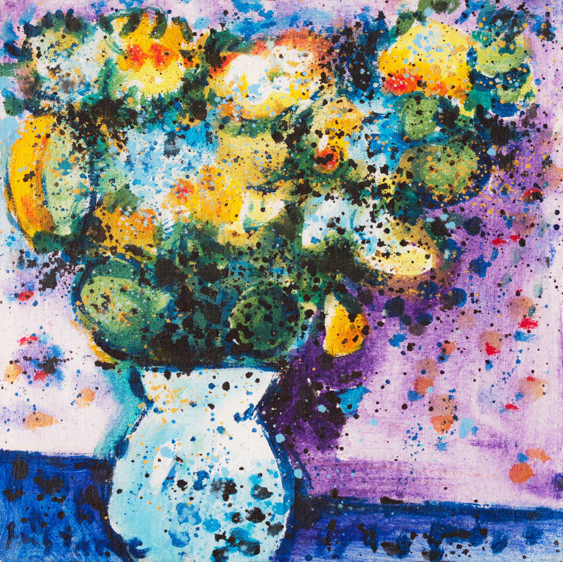 Still Life II  /  1989 / oil on canvas / 30x30 cm