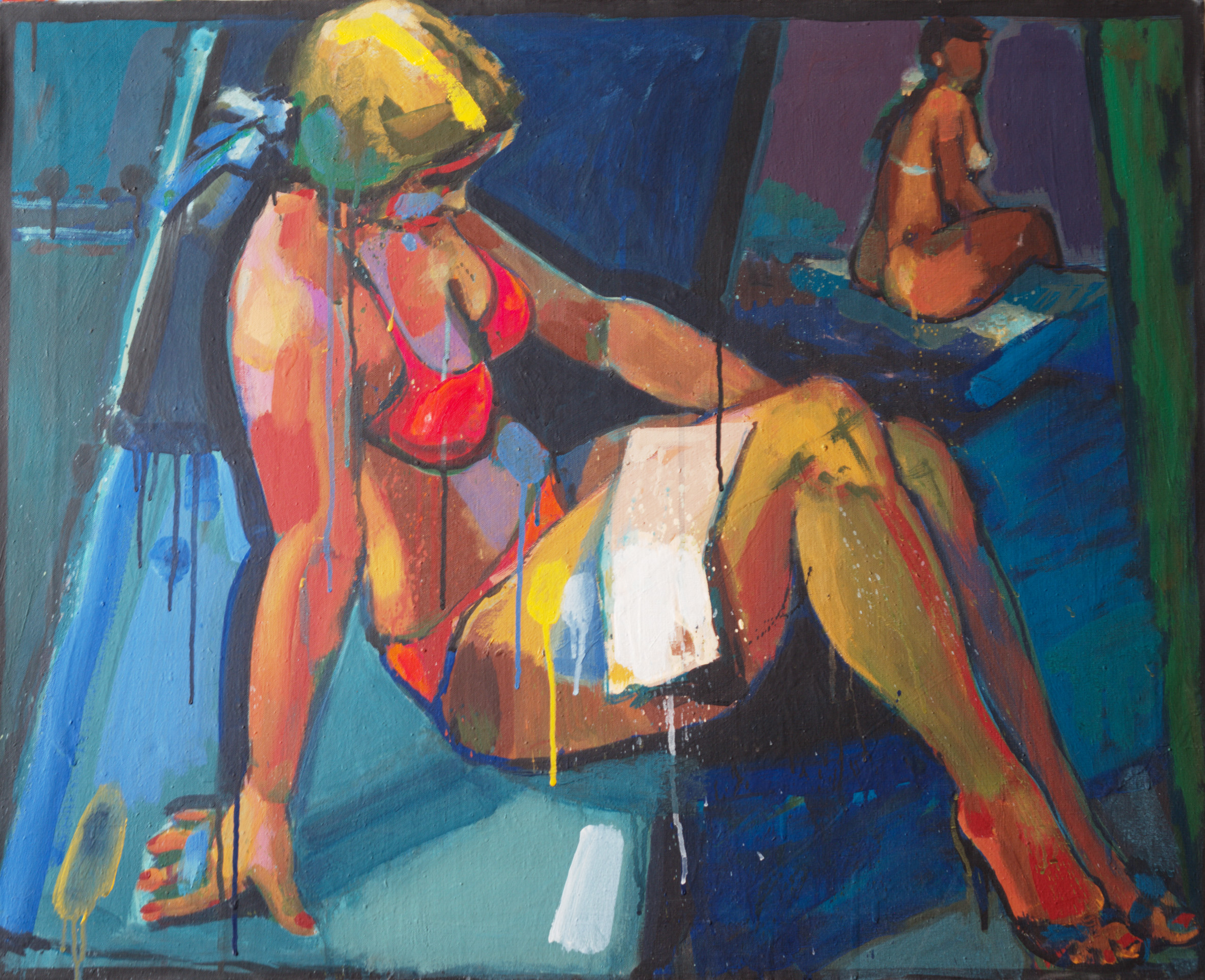 Tatjana  / 1980 / oil on canvas / 80 x 65 cm
