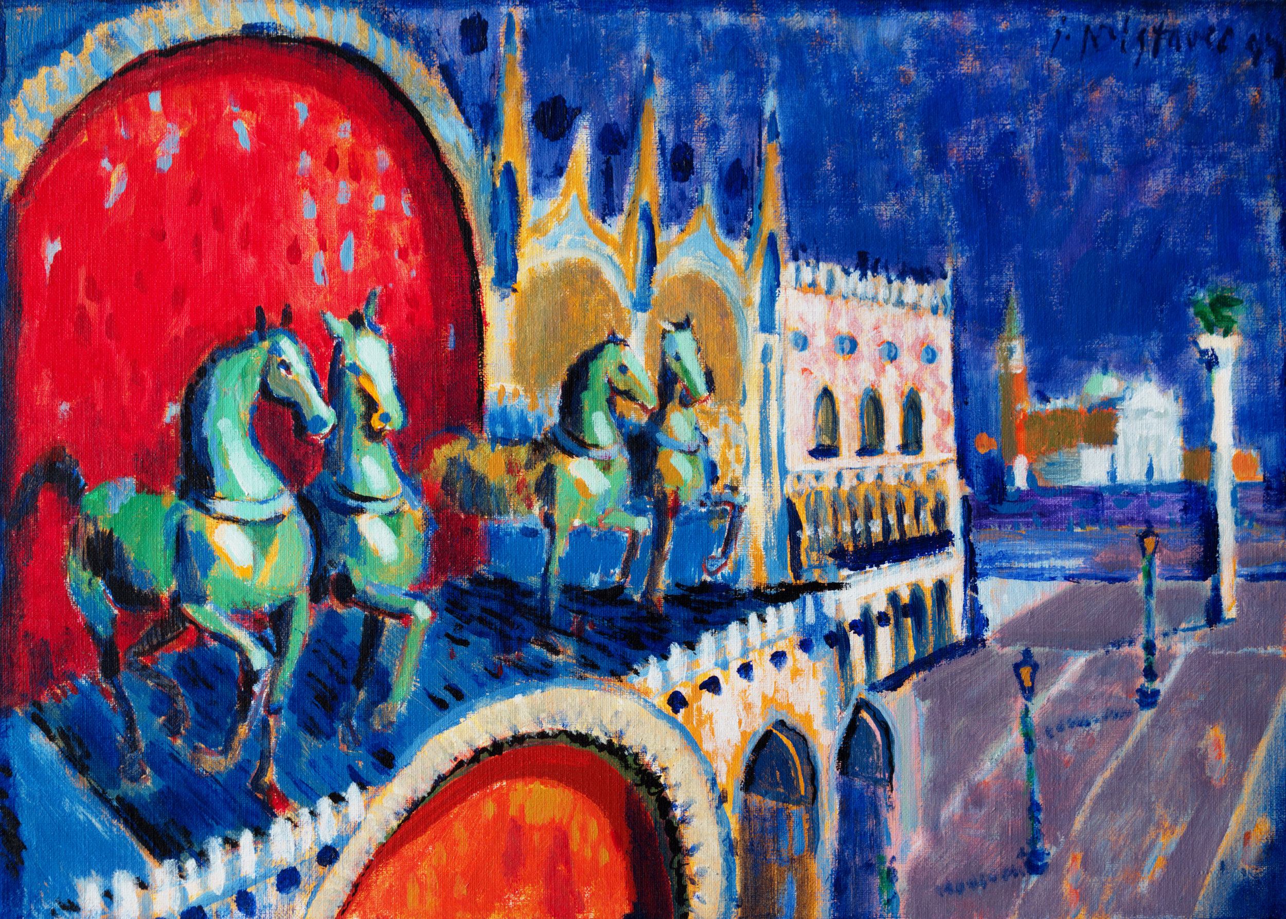 Trieste  / 1999 / oil on canvas / 70 x 50 cm
