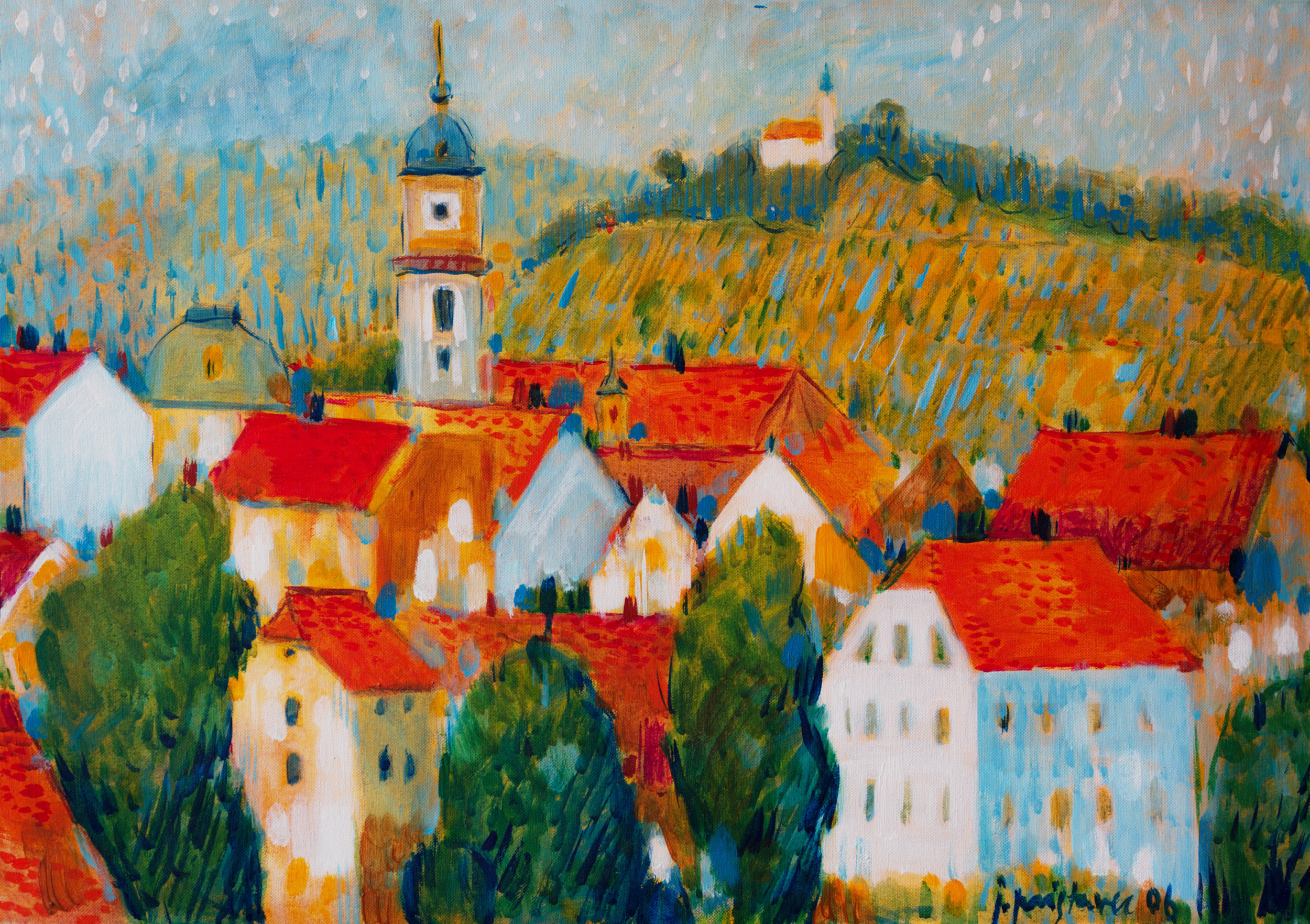 Maribor  / 2006 / oil on canvas / 70 x 50 cm