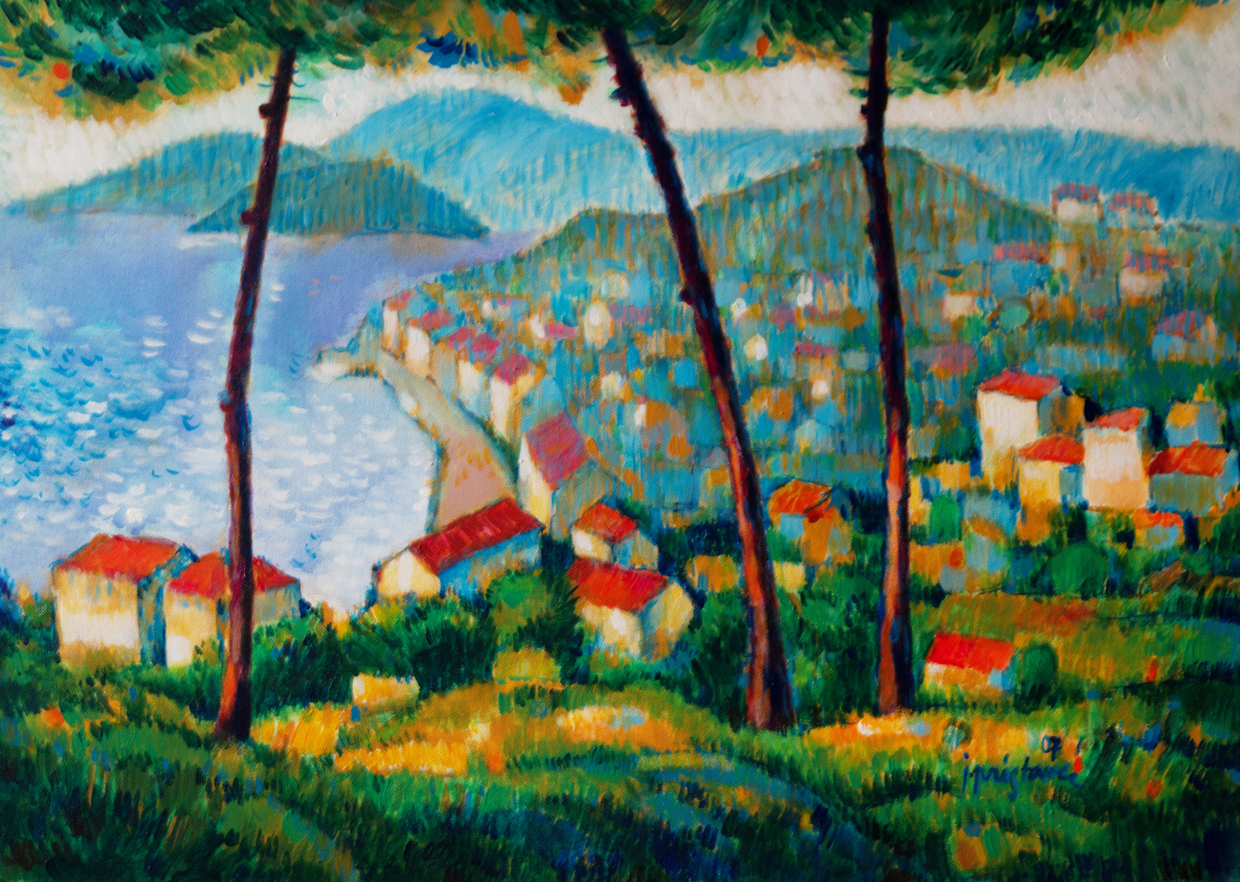 Adriatic  / 2007 / oil on canvas / 70 x 50 cm