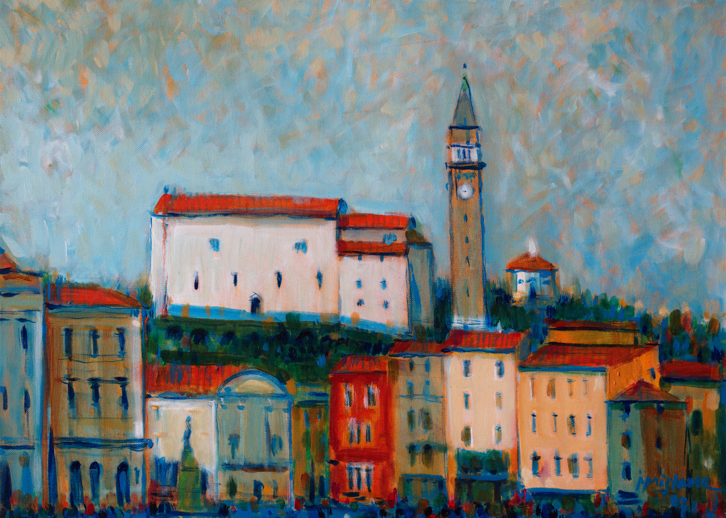 Rovinj  / 2007 / oil on canvas / 70 x 50 cm
