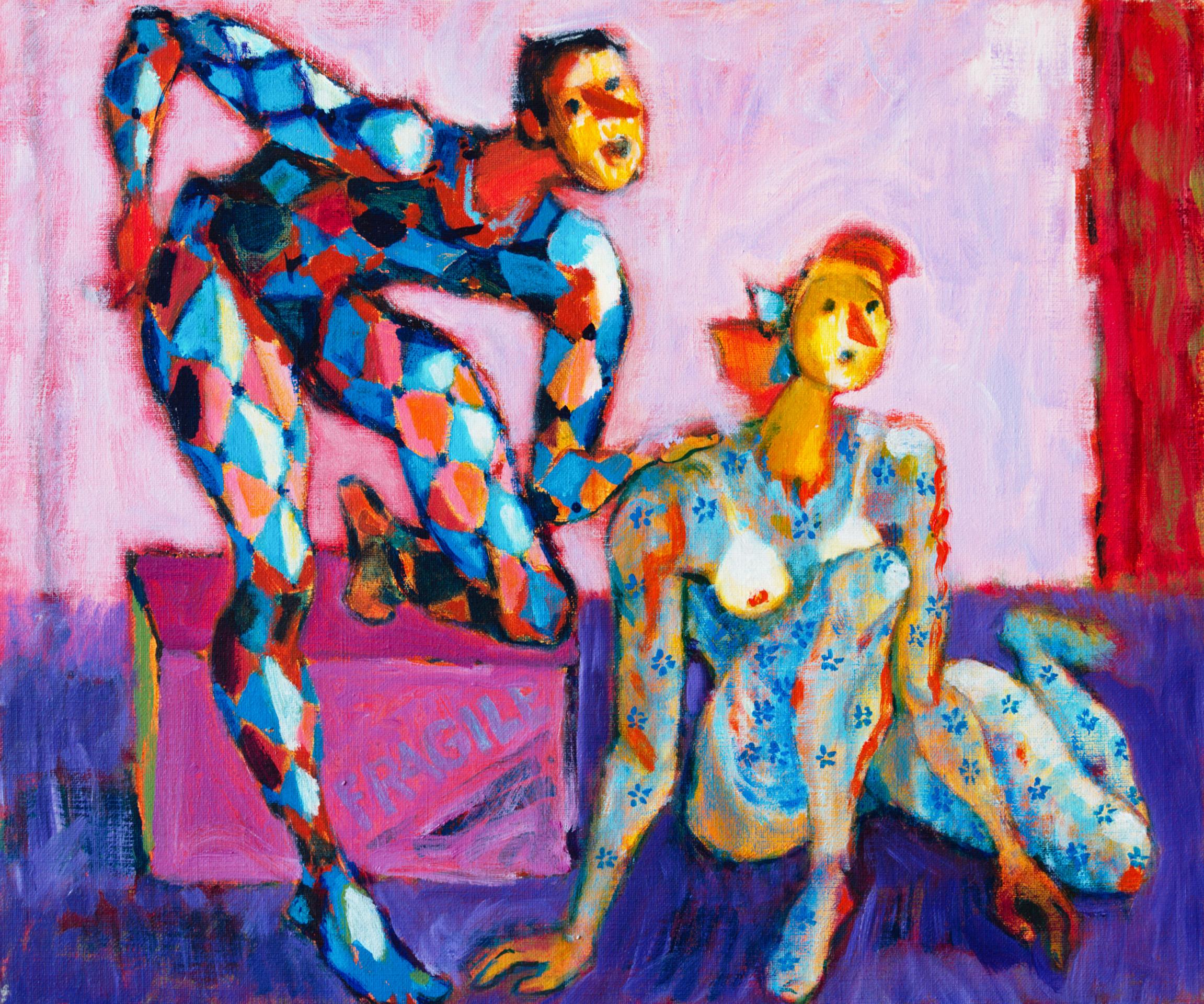 Fragile  / 1996 / oil on canvas / 60x50 cm