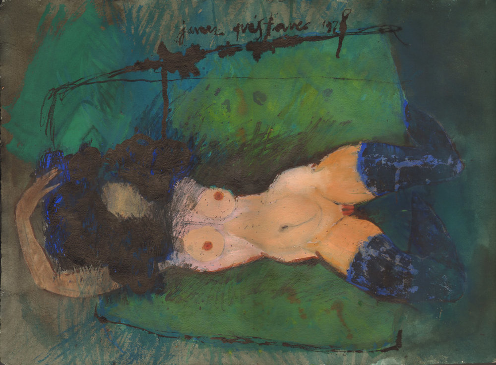 Mother  / 1974 / lythography / 130 x 90 cm