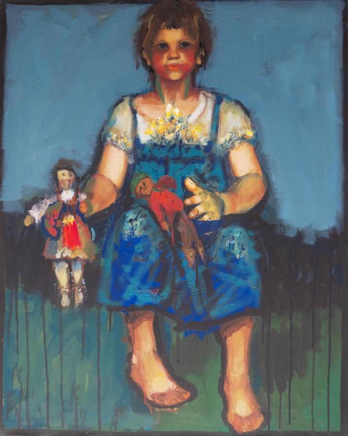 Špela  / 1979 / oil on canvas / 65x80 cm