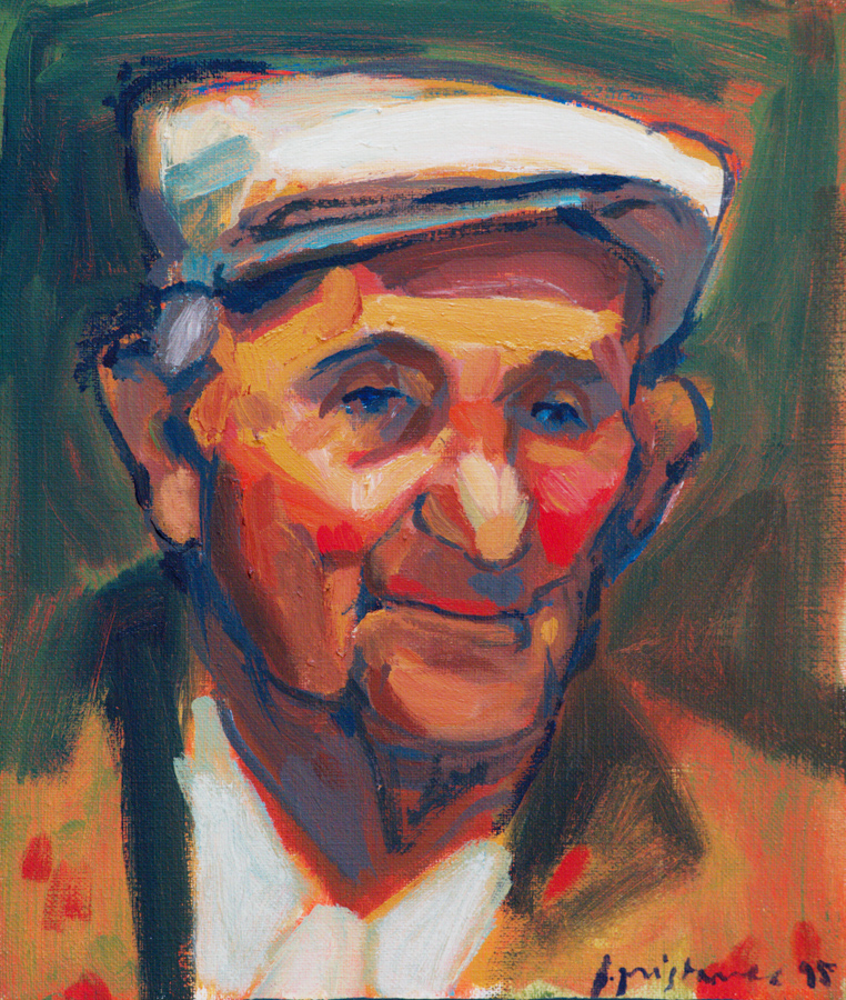 Father  / 1995 / oil on canvas / 30x35 cm