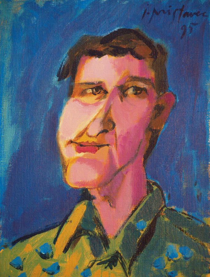 Zvone  / 1995 / oil on canvas / 30x40 cm