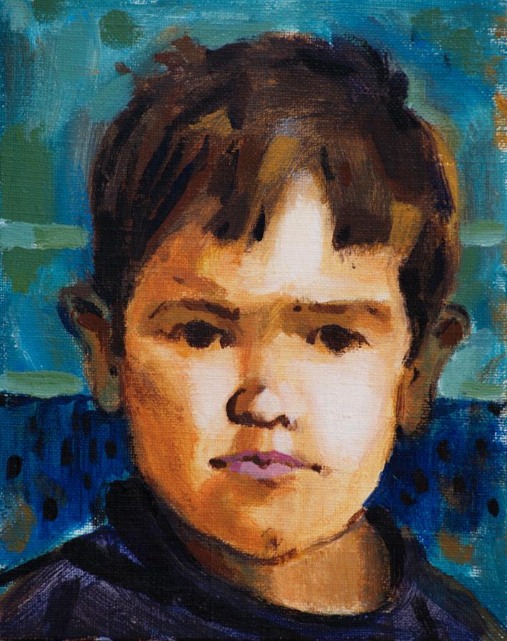 Boy  / 1996 / oil on canvas / 20x25 cm