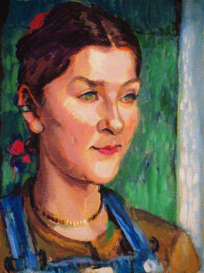 Ivana  / 1997 / oil on canvas / 30x40 cm