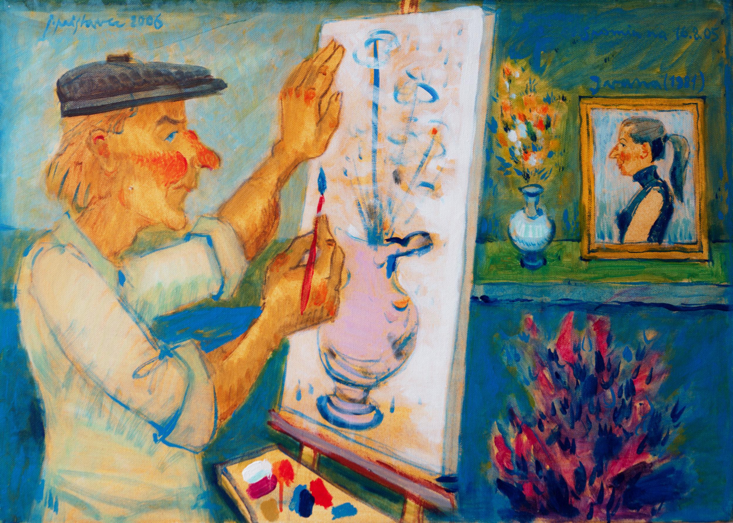 Ivana  / 2006 / acryl on canvas / 50x70 cm