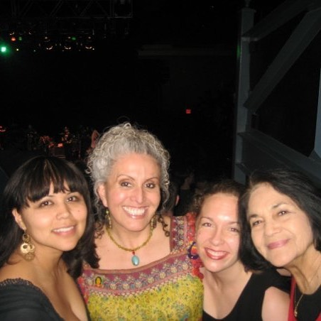 On Cesar Chavez Day, remembering when I danced cumbia with Dolores Huerta, co-founder of the UFW, at DC's 9:30 Club. The revolution will be danced #latinos #socialjustice #music #arts #resistance
