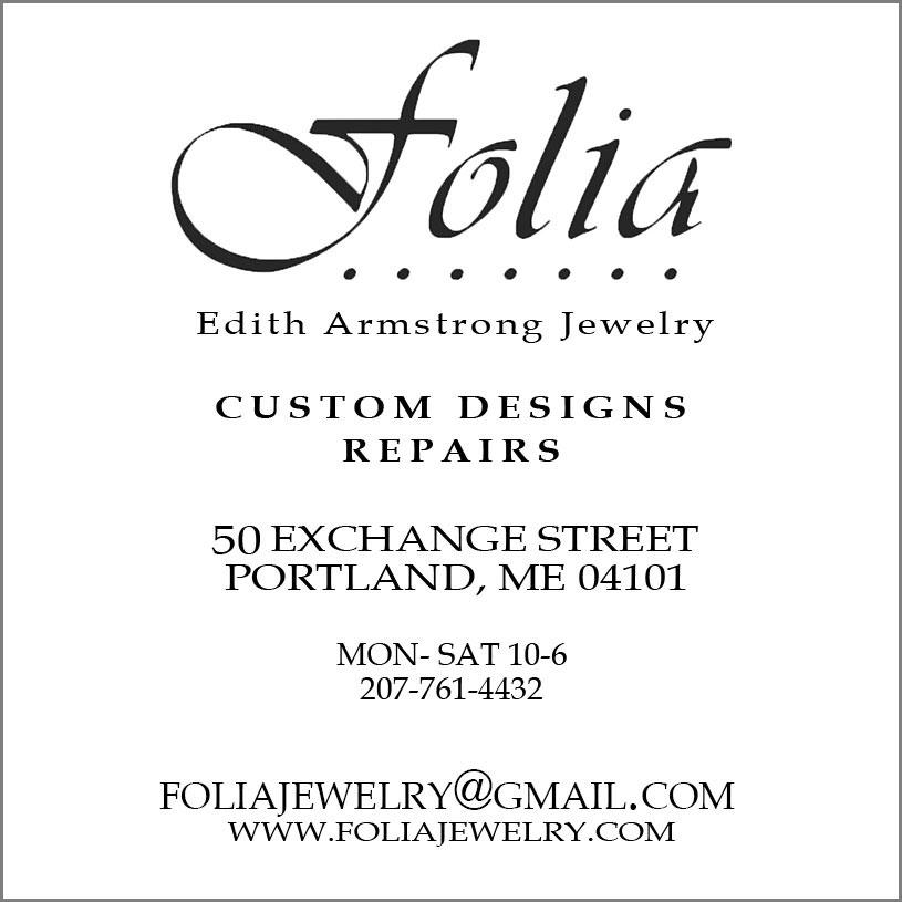 Folia business card