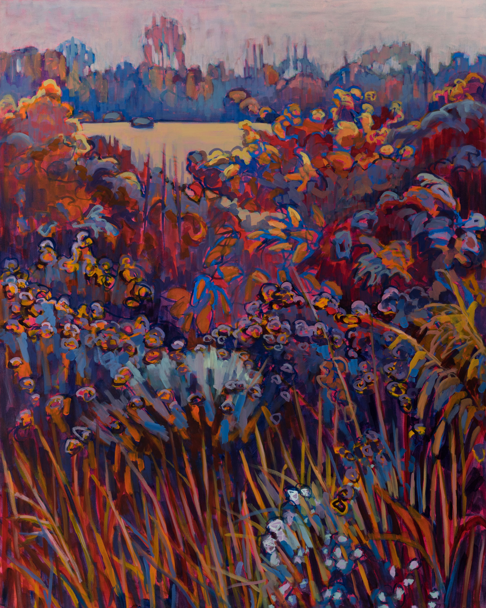 """Prairie 22 Revisited 60"""" X 48"""" - SOLD"""
