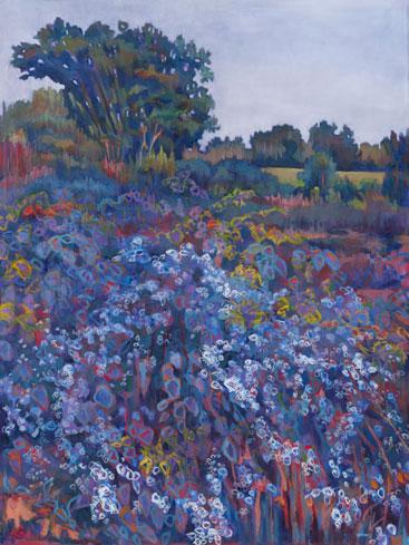 Prairie Commission Oil on Canvas 7' X 5'