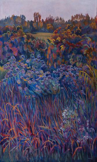 Prairie Commission Oil on Canvas 9' X 5'