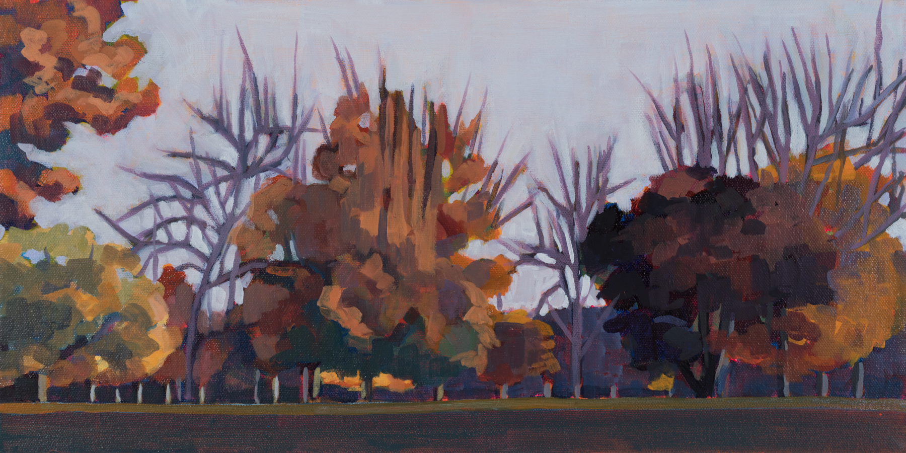 Autumn on the Parade Grounds