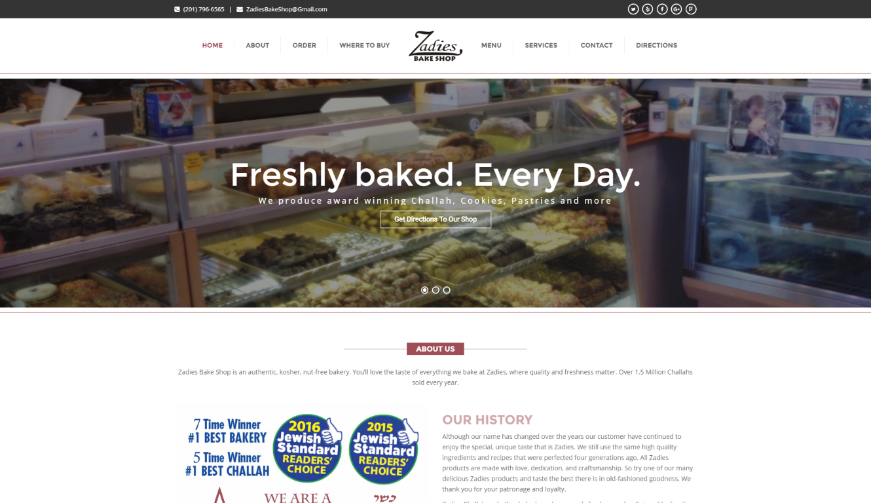 Copy of Bakery - Wordpress
