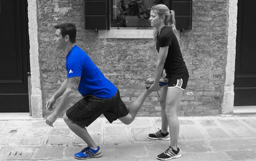 Partner Up-  Nothing is more motivating than having a training partner. So, grab a friend, loved one, coworker, anybody, and get fit together!
