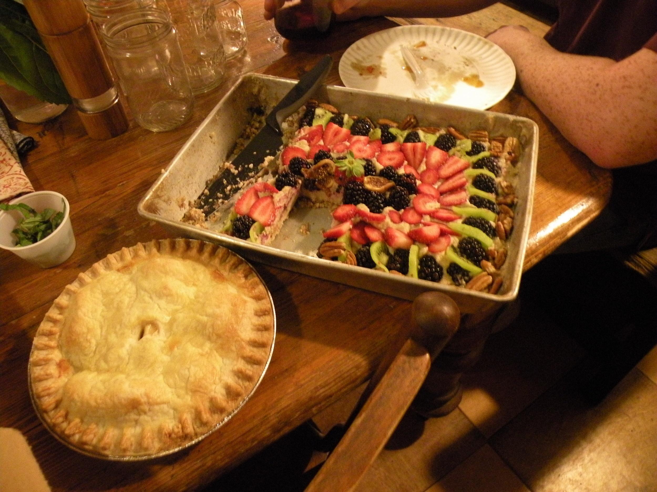 An impressive pie.