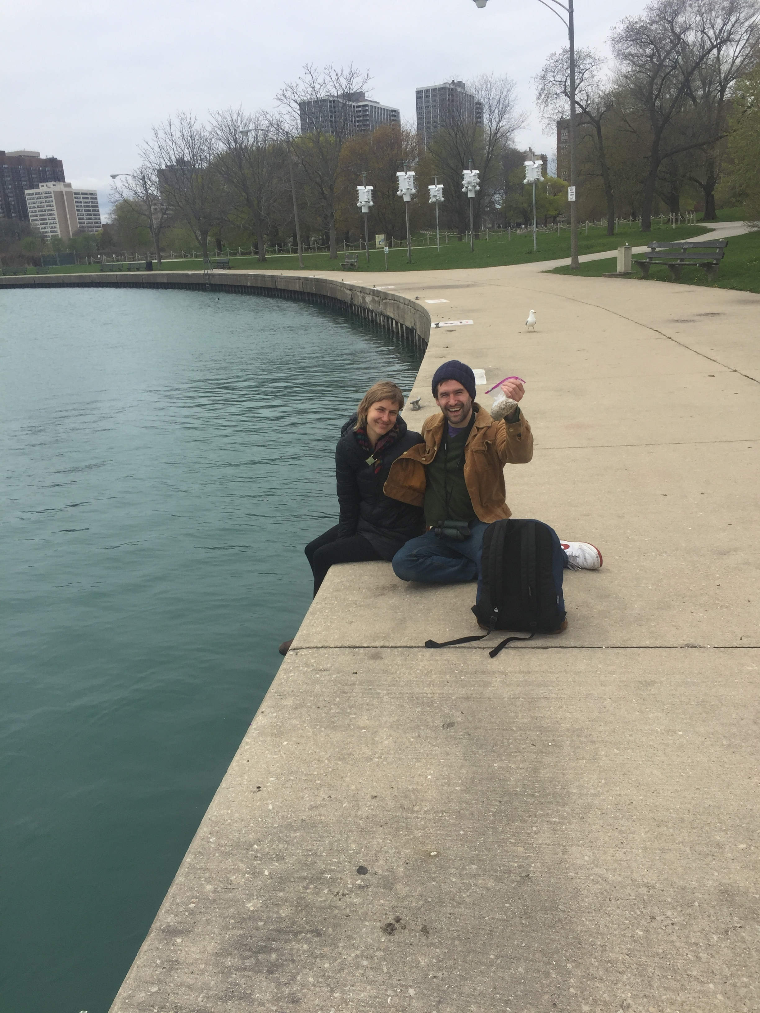 April 21, 2017. This is the only picture I have from this day. I remember because MY HANNAH was visiting. I got the news about the book being pulled while we were walking along the lake. I was simultaneously glad and sad Hannah was there. It was terrible news and I was crushed, so it was nice to have her there for support; but it was also so embarrassing. For over a year I'd said I was publishing a book. Now, suddenly, I wasn't.