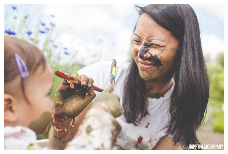Fingerpainting Photo Shoot - the Happy Film Company