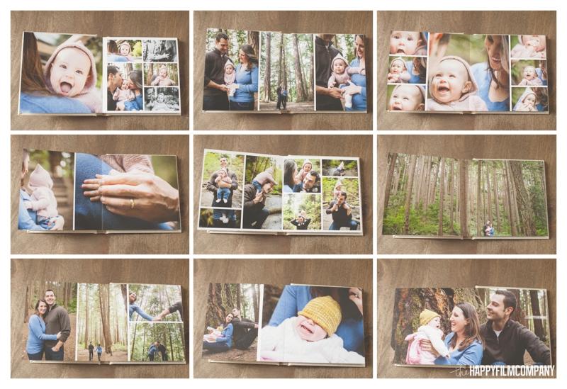 "6""x6"" Family Photo Album - Seattle Family Photographer - the Happy Film Company"