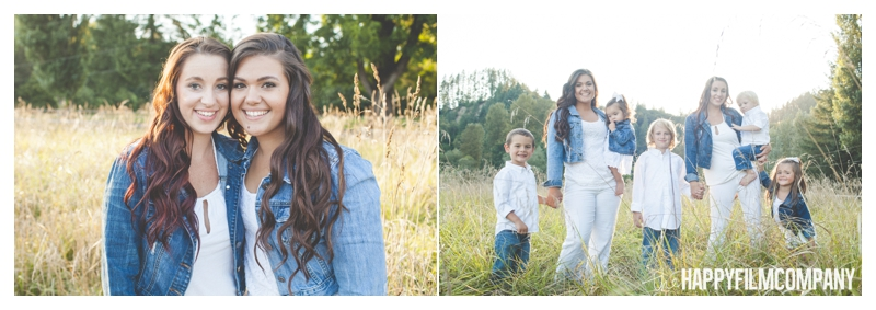 Seattle Family Photographer - the Happy Film Company - Wheat Field