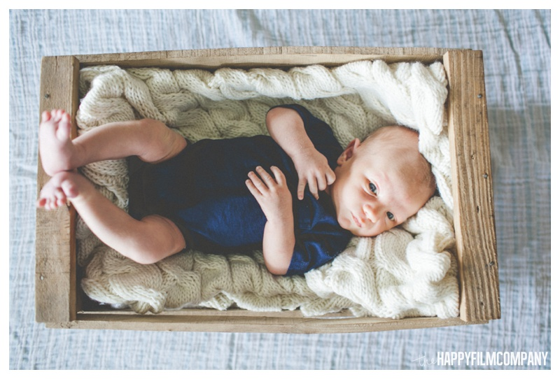 Seattle Newborn Photographer - the Happy Film Company