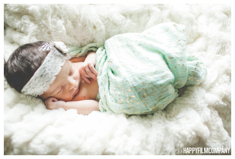 seattle styled newborn shoot - the Happy Film Company