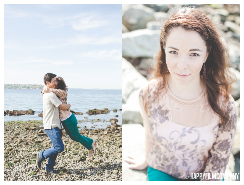 the happy film company - seattle beach photos couples