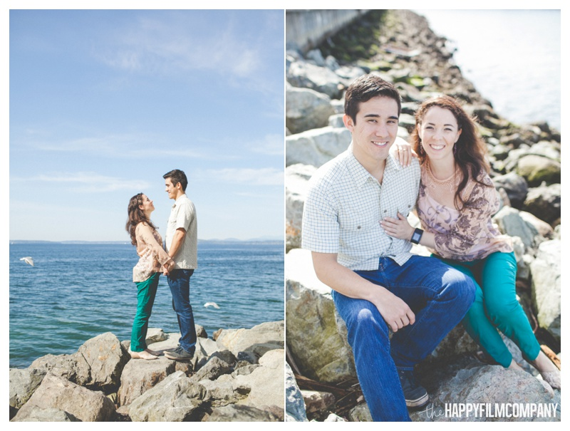 the happy film company - couples portraits seattle waterfront