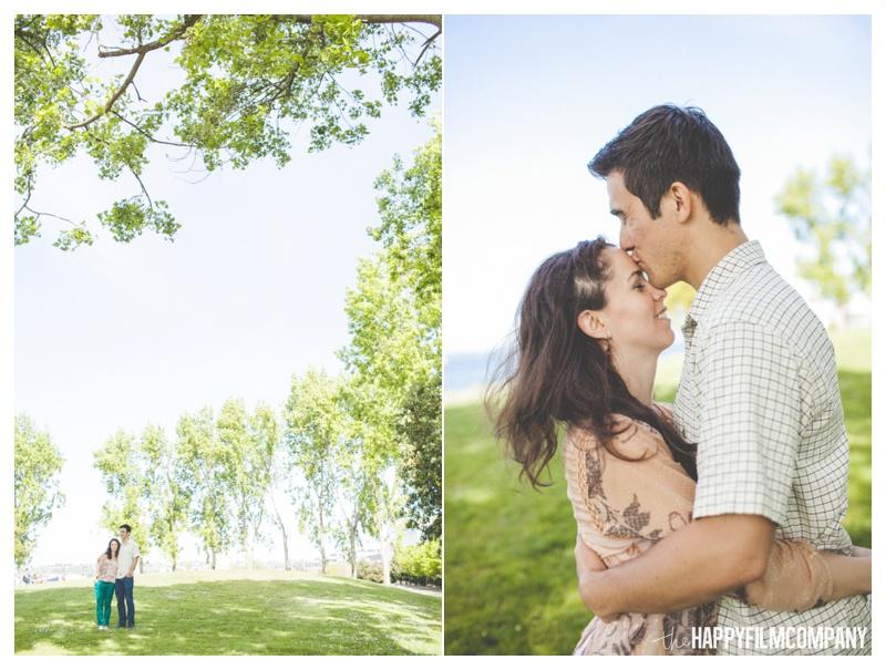 the happy film company - couples portraits seattle