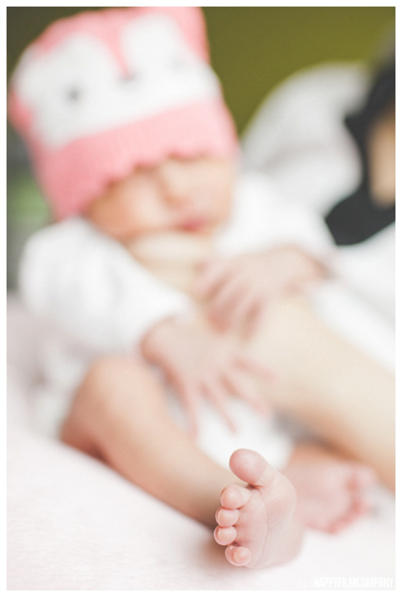 Cute Seattle baby photos - the Happy Film Company