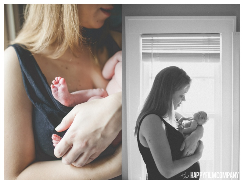 mother and baby - the happy film company - seattle natural newborn photos