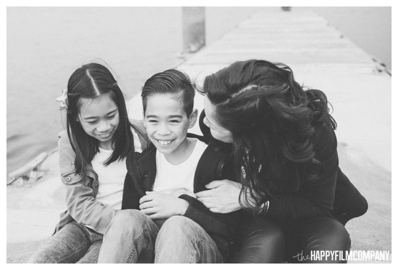 black and white family photos - the happy film company - seattle family photographer