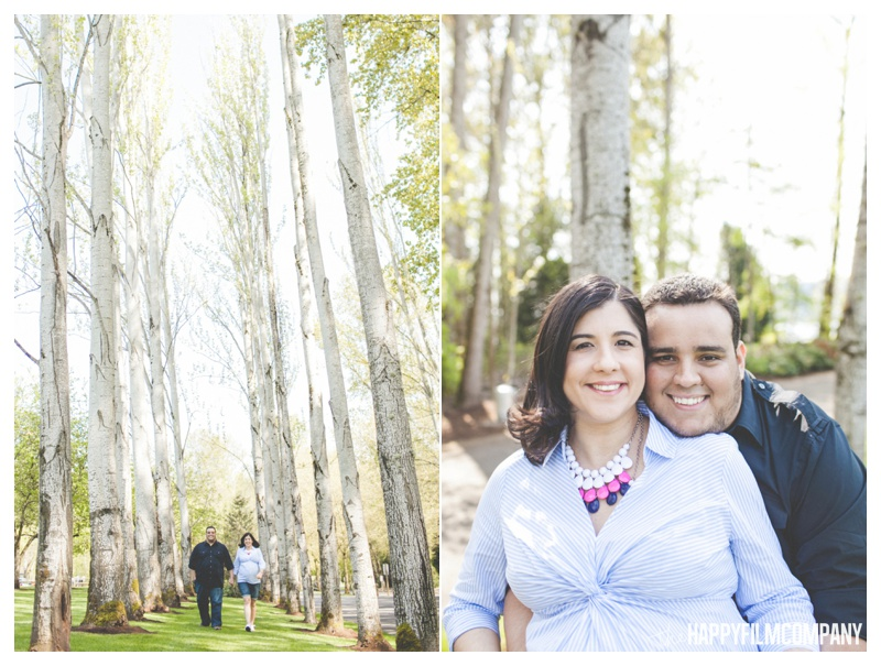 springtime maternity session  - the Happy Film COmpany - Seattle maternity photos