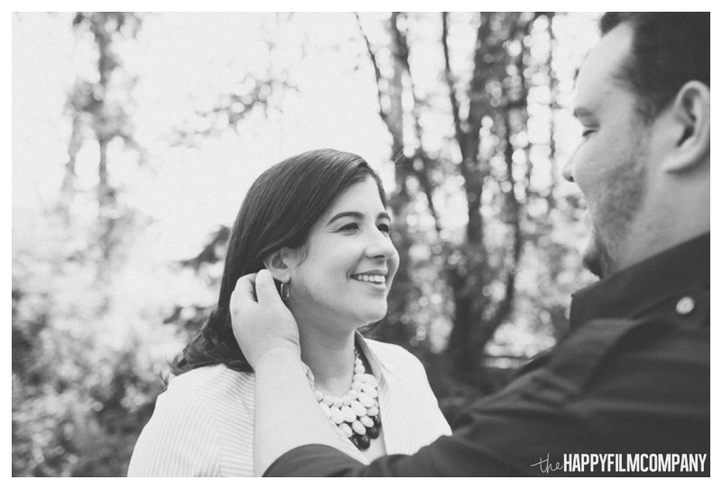 black and white couples photos - the Happy Film COmpany - Seattle maternity photos